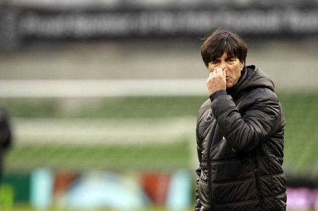 Trenér německé fotbalové reprezentace Joachim Löw.