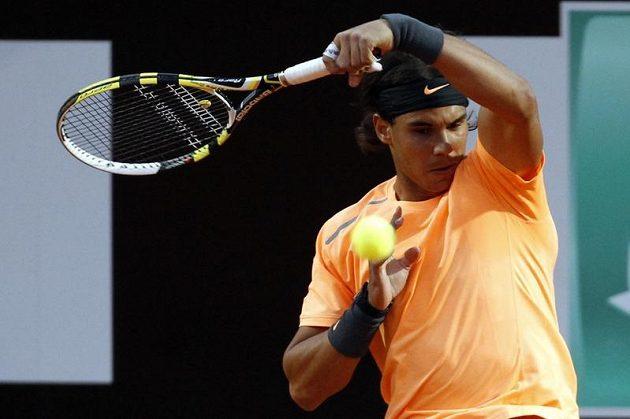 Rafael Nadal potvrdil ve čtvrtfinále na římské antuce roli favorita