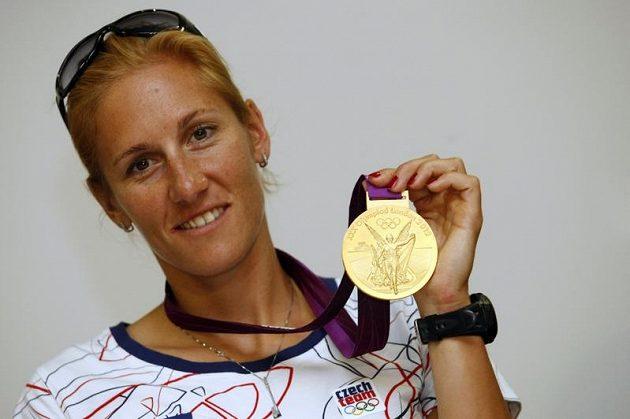 Zlatá olympijská skifařka Mirka Knapková