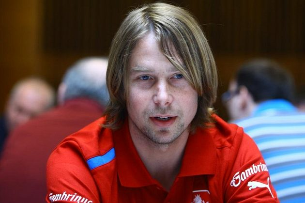 Jaroslav Plašil na srazu fotbalové reprezentace