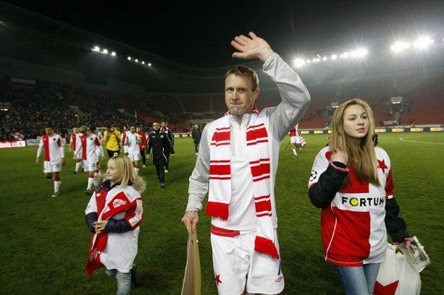 Slávista Stanislav Vlček se loučí s kariérou.