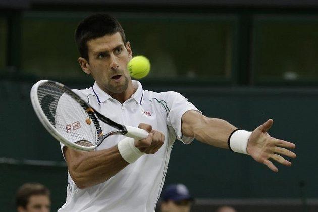 Novak Djokovič v semifinále proti Rogeru Federerovi