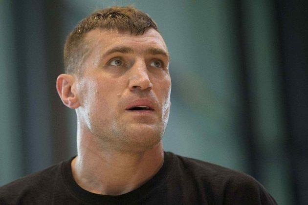 Polský boxer Mariusz Wach.