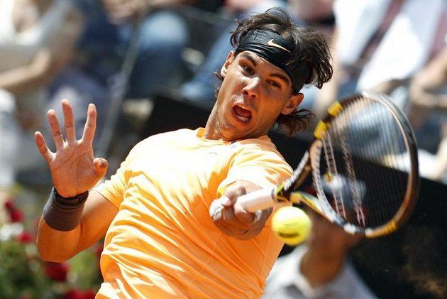 Také Rafael Nadal vložil do zápasu maximální úsilí