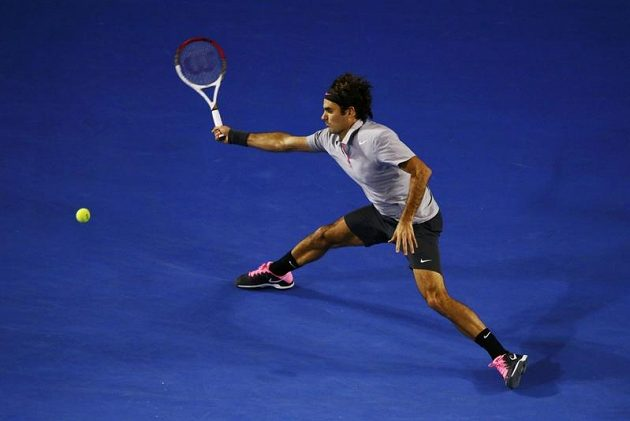 Roger Federer v semifinále Australian Open na Brita Andyho Murrayho nestačil.