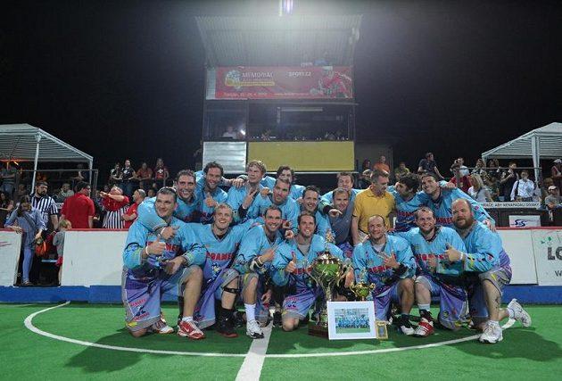 Megamen Boston, vítěz Memoriálu Aleše Hřebeského 2O12