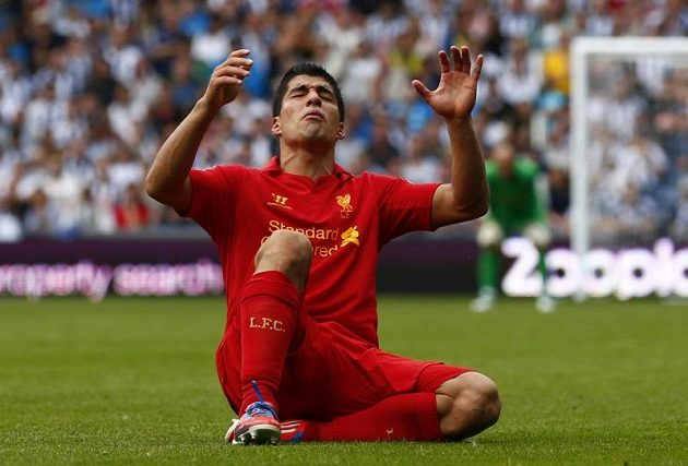 Luis Suárez z Liverpoolu.