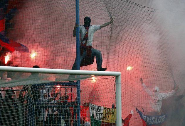 Plzeňští fanoušci.