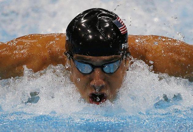Americký plavec Michael Phelps, nejúspěšnější olympionik historie