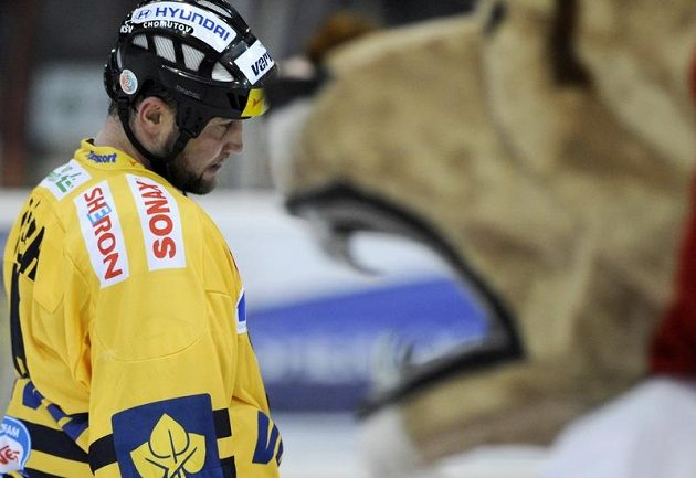 Zklamaný Jiří Šlégr z HC Verva Litvínov.