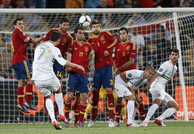 Ani Ronaldovy obávané střely z trestných kopů k úspěchu tentokrát nevedly