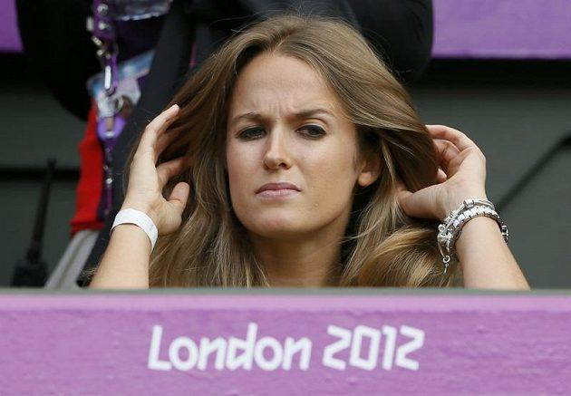 Kim Searsová, přítelkyně Andy Murrayho, se nemohla dočkat olympijského finále...