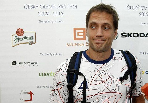 Oštěpař Vítězslav Veselý