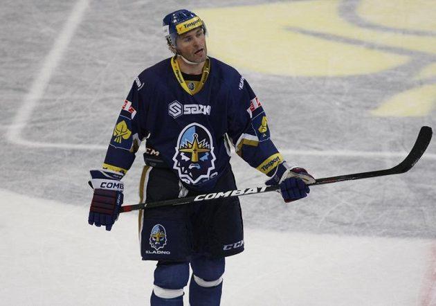 Pohled Jaromíra Jágra je výmluvný - utkání proti Brnu se Kladnu nepodařilo.