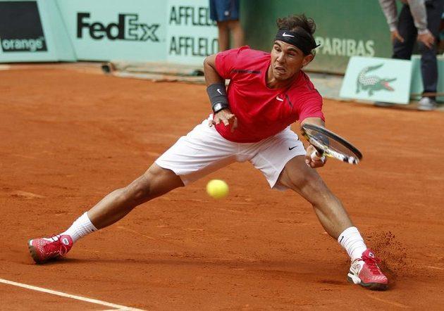 Rafael Nadal si v neděli na French Open zahraje o sedmý titul z Paříže