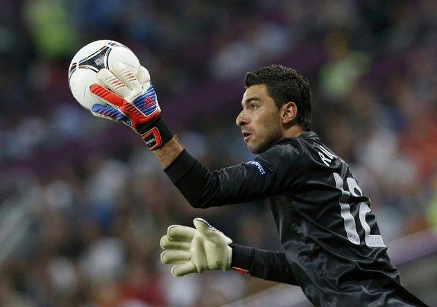 Portugalský gólman Rui Patricio