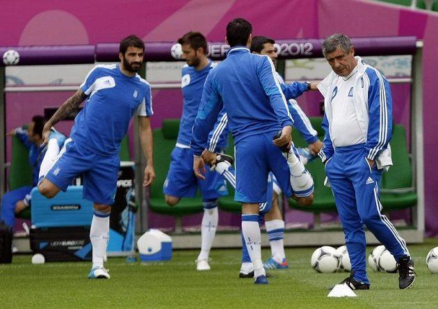 Trenér fotbalistů Řecka Fernando Santos