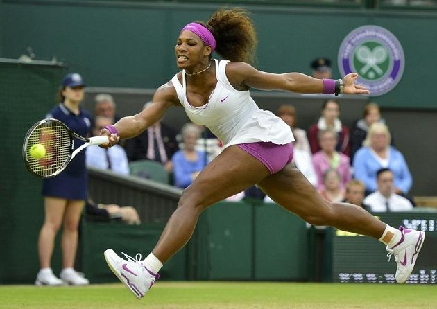 Serena Williamsová má dnes ve Wimbledonu nabitý program