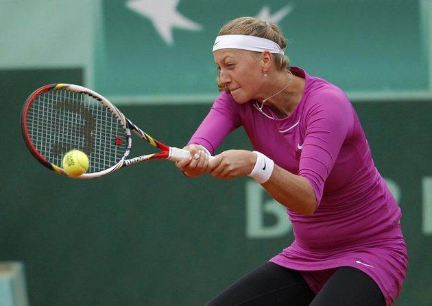 S maximálním úsilím šla Petra Kvitová za postupem do čtvrtfinále French Open