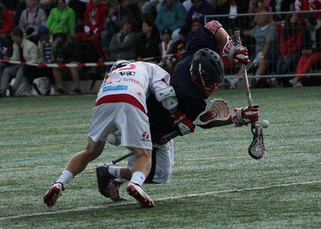 Fieldlakrosové ME U-19, finále, USA – Kanada