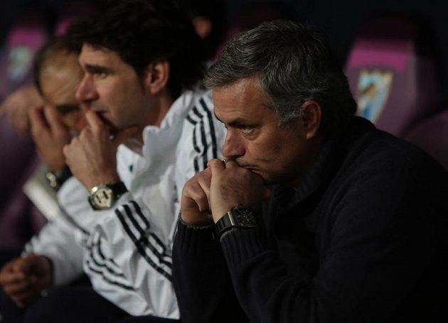 Mourinho měl po zápase s Malágou ke spokojenosti daleko.