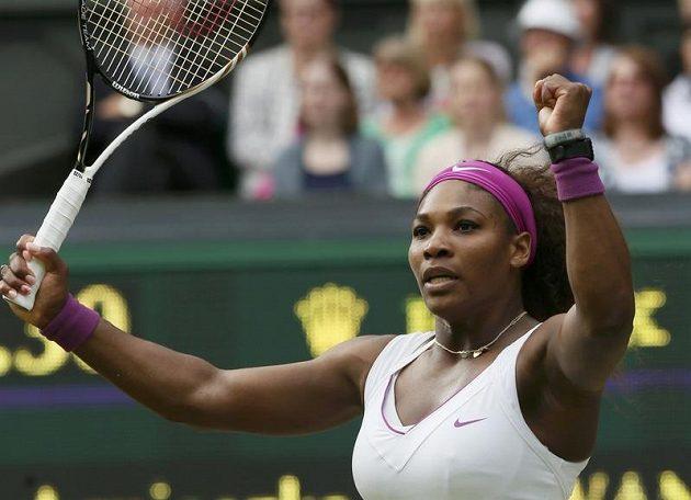 Serena Williamsová se stala popáté v kariéře vítězkou dvouhry ve Wimbledonu