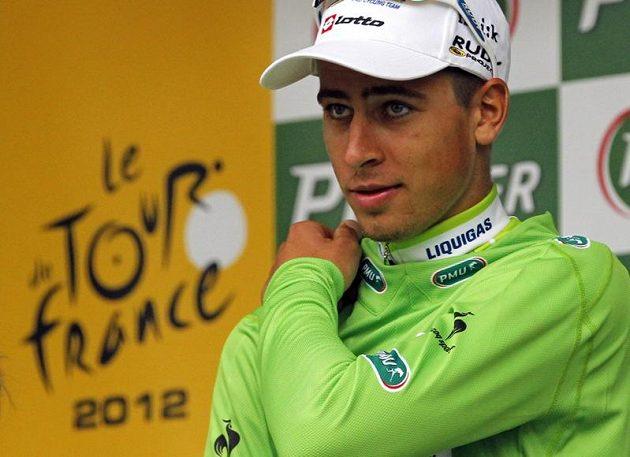 Slovenský cyklista Peter Sagan získal zelený trikot Tour de France