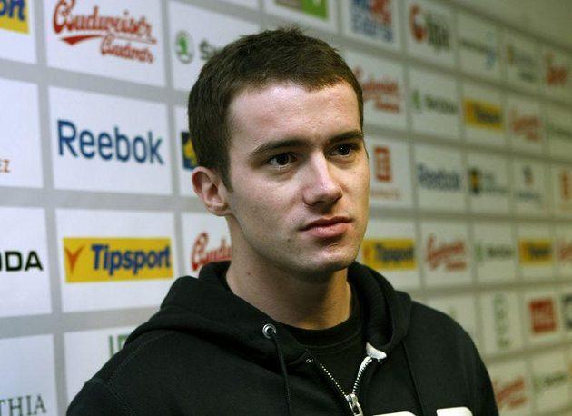 Jakub Petružálek na srazu hokejové reprezentace