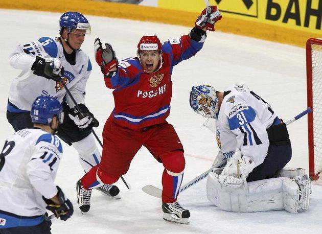 Sergej Širokov pečetil finskou prohru šestým gólem