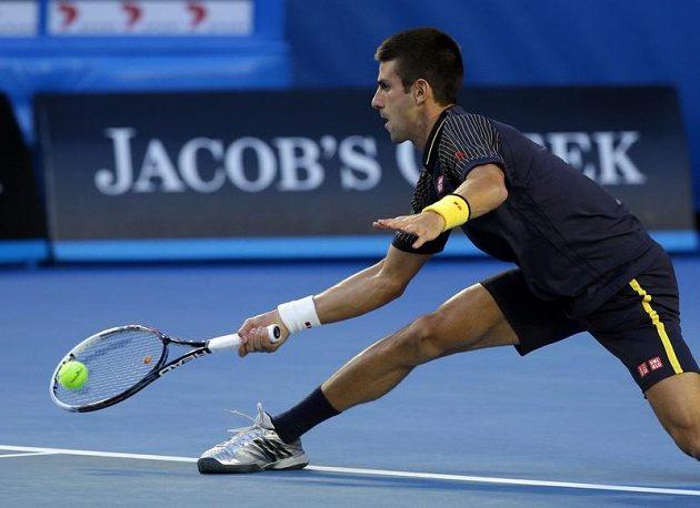 Novak Djokovič doběhl téměř vše.