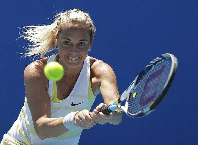 Česká tenista Klára Zakopalová zdolala v prvním kole Australian Open Jihoafričanku Chanelle Scheepersovou.