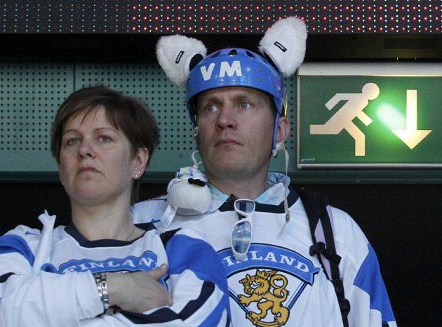 ... ostře kontrastovala se zklamáním příznivců Suomi