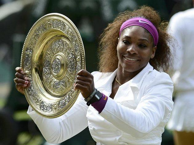 Sbírka trofejí americké tenistky Sereny Williamsové se rozrostla o další klenot