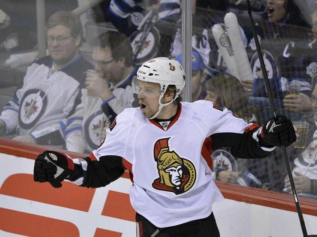 Milan Michálek skóroval hned v prvním utkání Ottawy.