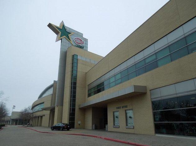 Tréninková hala hokejistů Dallasu ve Frisku.