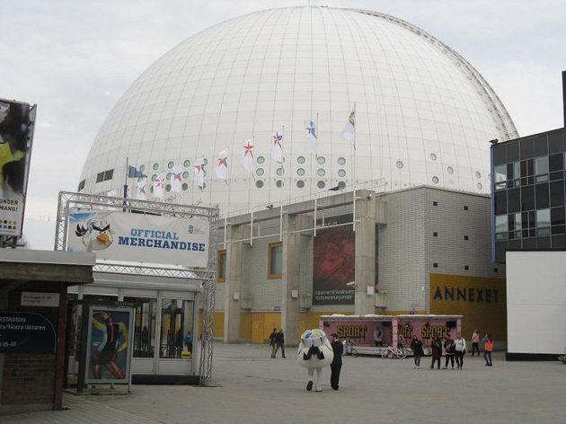 Hala Globen ve Stockholmu
