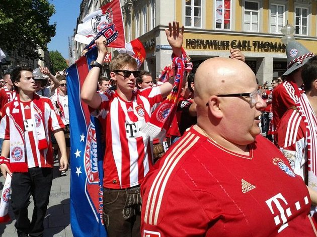 Někteří z fanoušků Bayernu jsou opravdu fešáci