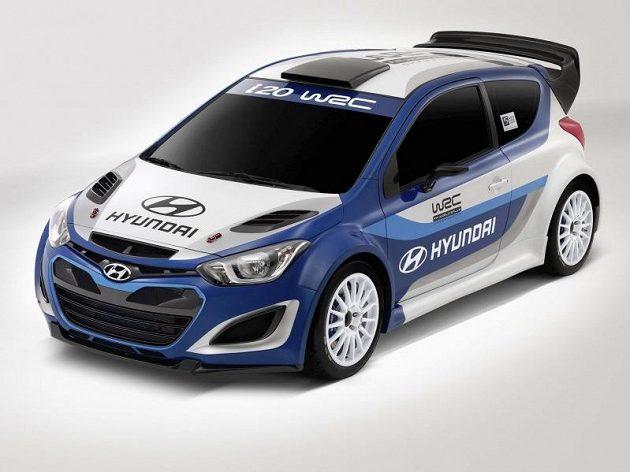 Grafická studie vozu Hyundai i20 WRC