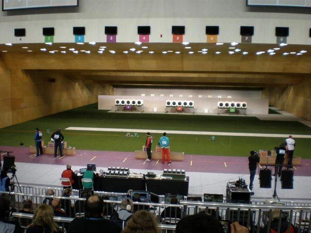 Hala, ve které budou střelci na OH bojovat o medaile.