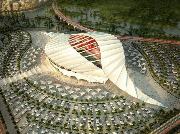 Budouci podoba Al Raján Stadium.