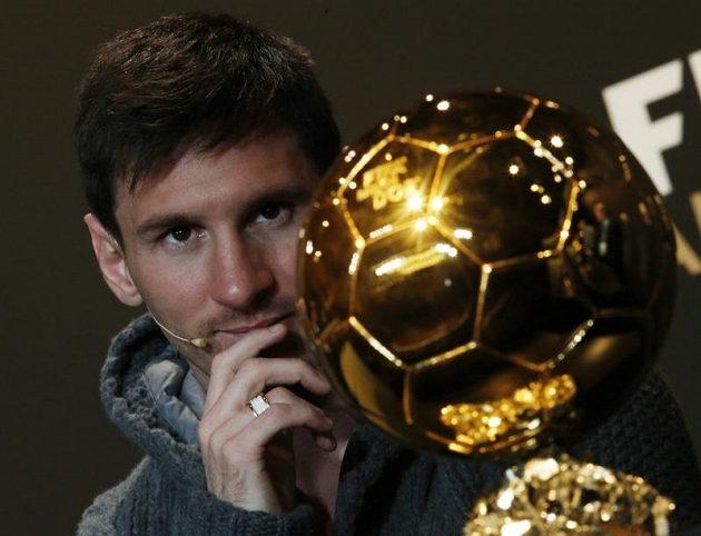 Argentinec Lionel Messi má Zlatý míč znovu ve svých rukou.