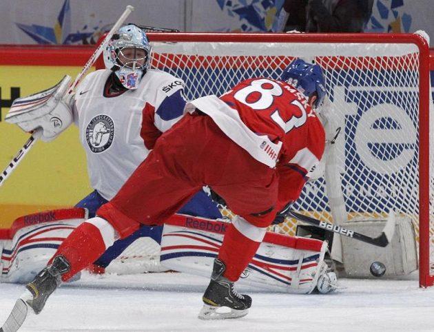 Aleš Hemský sroval proti Norům na 1:1.