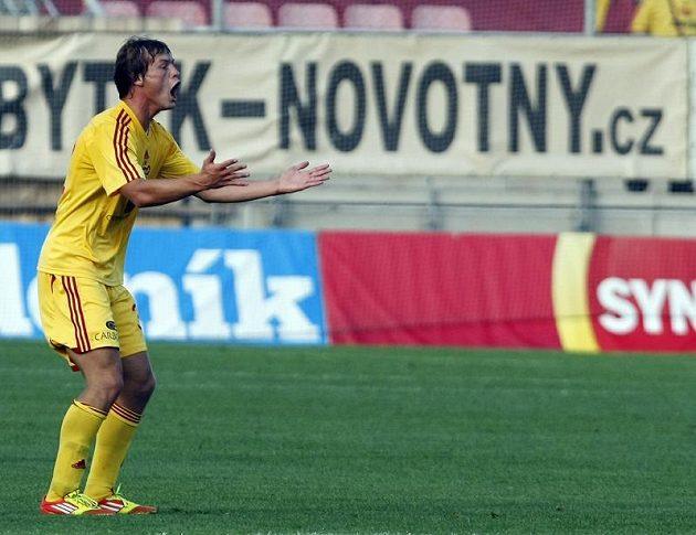Borek z Dukly jásá nad gólem.