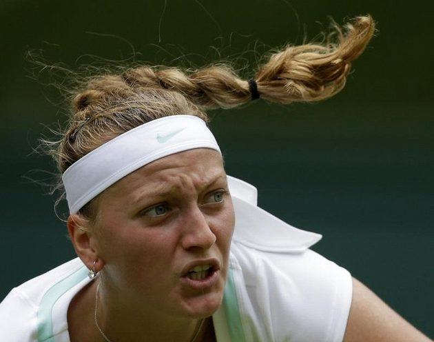 Petra Kvitová zahájila ve Wimbledonu cestu za obhajobou titulu