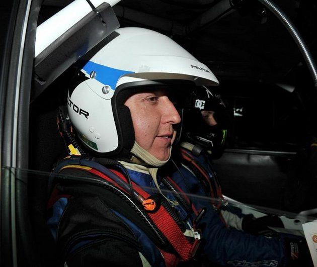Navigátor Bohuslav Ceplecha, který na Rallye Bohemia tragicky zahynul.