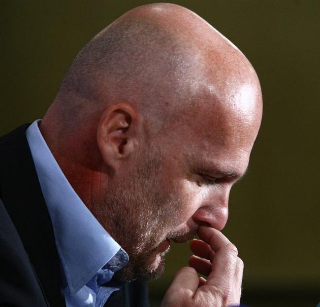 Trenér národního týmu Michal Bílek oznamuje nominaci před EURO.