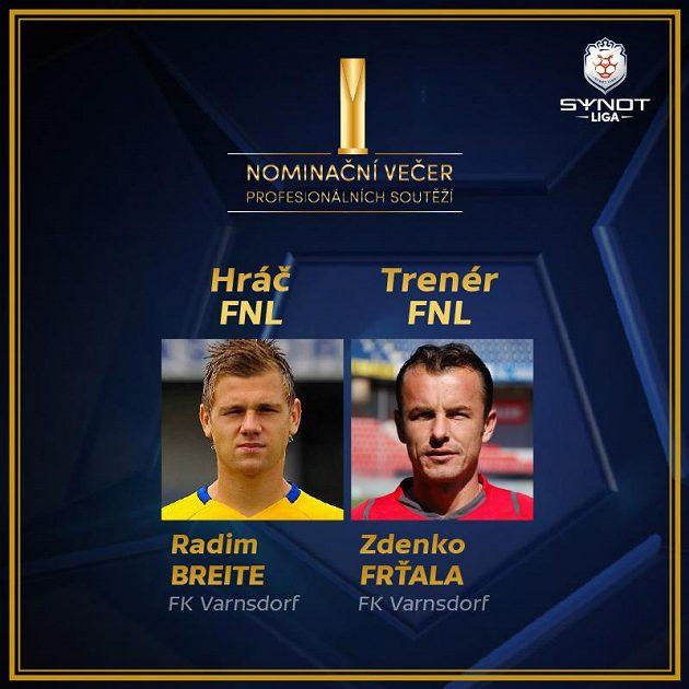 Lídři druhé nejvyšší soutěže.