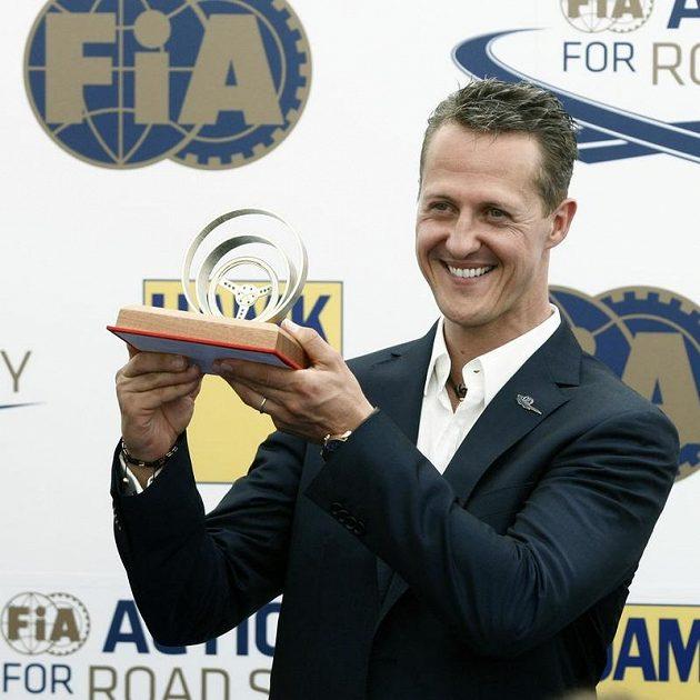 Michael Schumacher se Zlatým volantem
