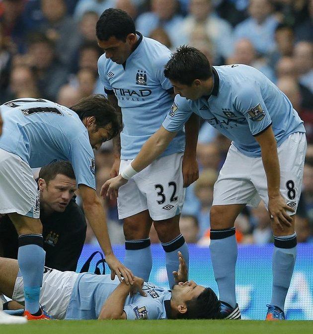 Fotbalisté Manchesteru City.