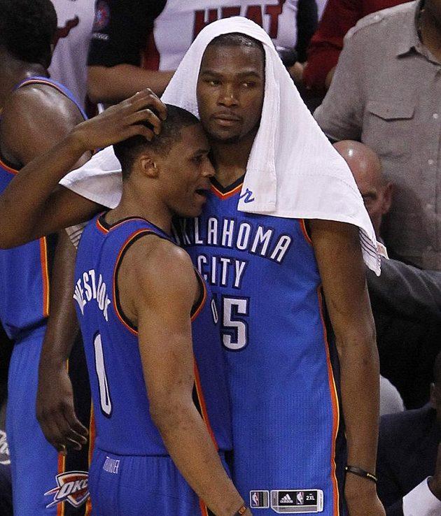 Hráči Oklahomy na rozjeté basketbalisty Miami neměli.